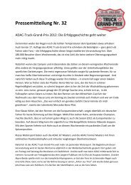 Diese Pressemitteilung als PDF-Datei anzeigen - Truck Grand Prix