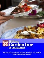 Banquet Menu - Hilton