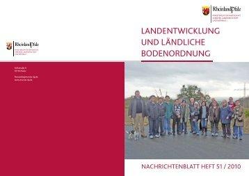 landentwicklung und ländliche bodenordnung - Initiative Landschafft ...