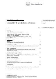 Carpeta de prensa completa - Mercedes-Benz España