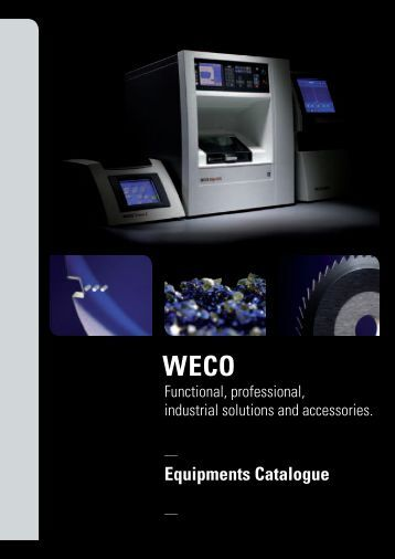 Weco catalogue 2011