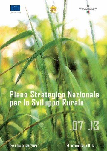 Piano Strategico Nazionale per lo Sviluppo Rurale - Rete Rurale ...