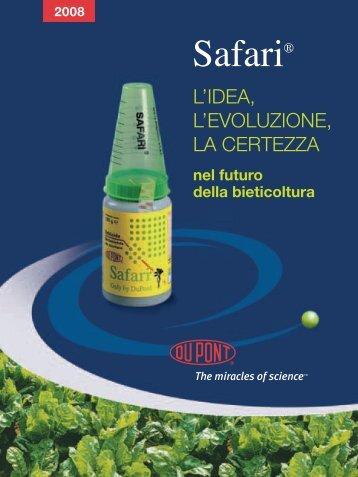 Brochure Safari ® 2008 - DuPont