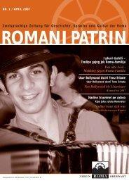 Zweisprachige Zeitung für Geschichte, Sprache und Kultur der Roma