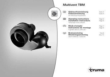 Multivent TBM - Truma Gerätetechnik GmbH & Co. KG