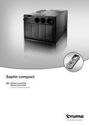 Saphir compact - Truma Gerätetechnik GmbH & Co. KG