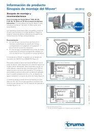 Información de producto Sinopsis de montaje del Mover® - Truma ...