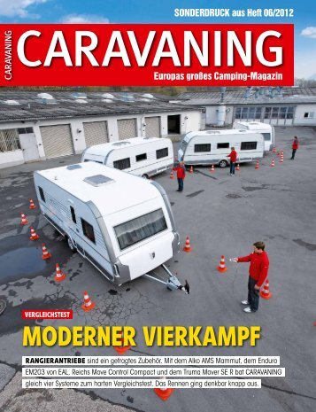 Caravaning mover test