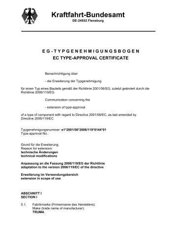 DE-24932 Flensburg - Truma Gerätetechnik GmbH & Co. KG