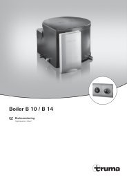 Boiler B 10 / B 14 - Truma Gerätetechnik GmbH & Co. KG