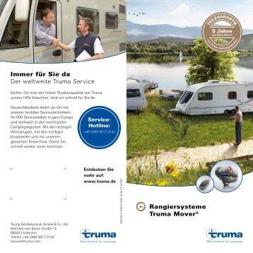 Flyer Rangiersysteme - Truma Gerätetechnik GmbH & Co. KG