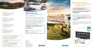 TruMA nyheder Forår/Sommer 2013