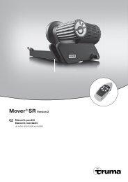 Mover® SR Version 2 Návod k použití Návod k montážní - Truma ...