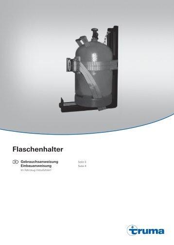 Flaschenhalter - Truma Gerätetechnik GmbH & Co. KG