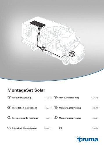 Istruzioni di montaggio - Truma Gerätetechnik GmbH & Co. KG