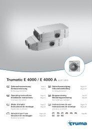 Trumatic E 4000 / E 4000 A ab 07 / 2010 - Truma Gerätetechnik ...