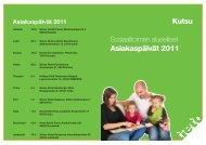 Asiakaspäivät 2011 - Tieto
