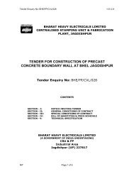 tender for construction of precast concrete boundary wall at bhel ...