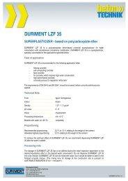 DURIMENT LZF 35 SUPERPLASTICIZER - MAPEI Betontechnik
