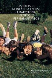 Informe sobre els drets de la infància en risc a Barcelona. Novembre ...
