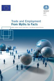 Trade and Employment From Myths to Facts - International Labour ...