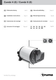 Combi 4 (E) / Combi 6 (E) - Truma Gerätetechnik GmbH & Co. KG