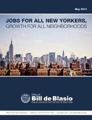 DeBlasio-JobsForAllNYers