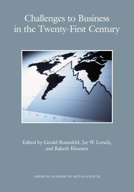 Challenges to Business in the Twenty-First Century - American ...