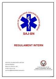 Regulament intern - Ambulanta Bistrita Nasaud