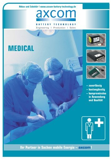 Medical - axcom GmbH
