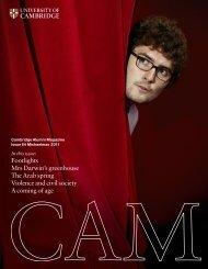 Read CAM 64 (pdf) - Cambridge Alumni Relations Office - University ...