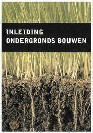 Inleiding Ondergronds Bouwen (PDF)