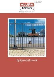 download de technische brochure voor meer ... - Alura Hekwerk BV