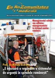 Septembrie 2012 - EuRoComunitatea Medicala