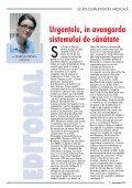 Septembrie 2012 - EuRoComunitatea Medicala - Page 3