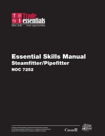 Essential Skills Manual - Steamfitter / Pipefitter - National Adult ...