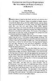 Prophet of the Earth Overturned: Keʻāulumoku on ... - John Charlot