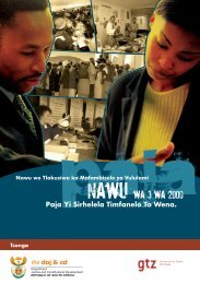 Nawu wa 3 wa 2000 - Department of Justice and Constitutional ...