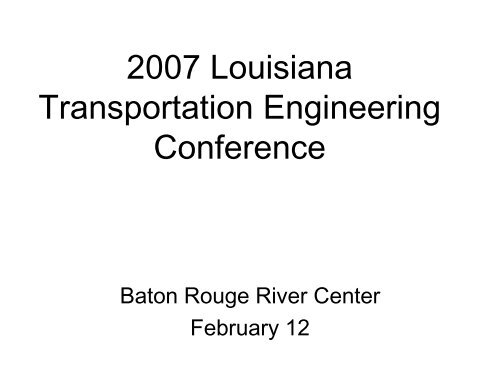 Self consolidating concrete conference