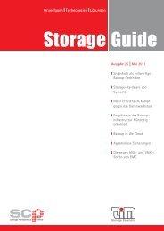 TIM Storage Guide - Ausgabe 25 ? Mai 2011 - TIM AG
