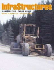 CONSTRUCTION ? PUBLIC WORKS - InfraStructures