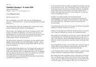 Praediken_19_marts_2006.pdf - Metodistkirken i Odense
