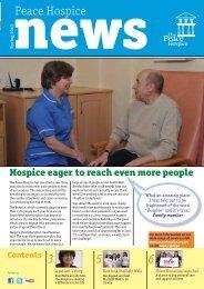 Peace Hospice News Spring 2013 Edition (pdf)