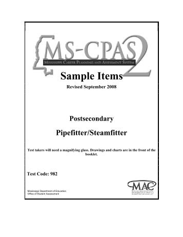 Pipe Barn Kits: Pipe Fitter Certification