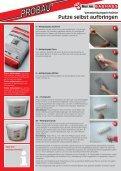 Putze selbst aufbringen - Probau - Seite 2