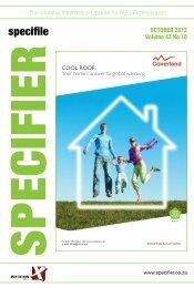 Specifier Oct 2012.pdf - Specifile