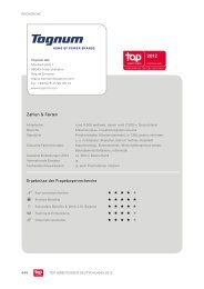 Zahlen & Fakten Ergebnisse der Fragebogenrecherche