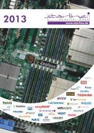 Katalog 2013 der starline Computer GmbH (11MB PDF)