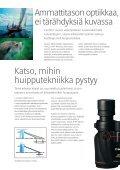Laadukkaat objektiivit ... kiikareihin - Fotoyks.fi - Page 2