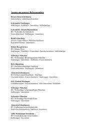 Unsere Referenzliste - Eisen-Fischer GmbH